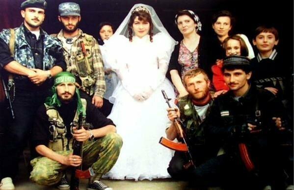 Свадьба в Чечне, 1990-е