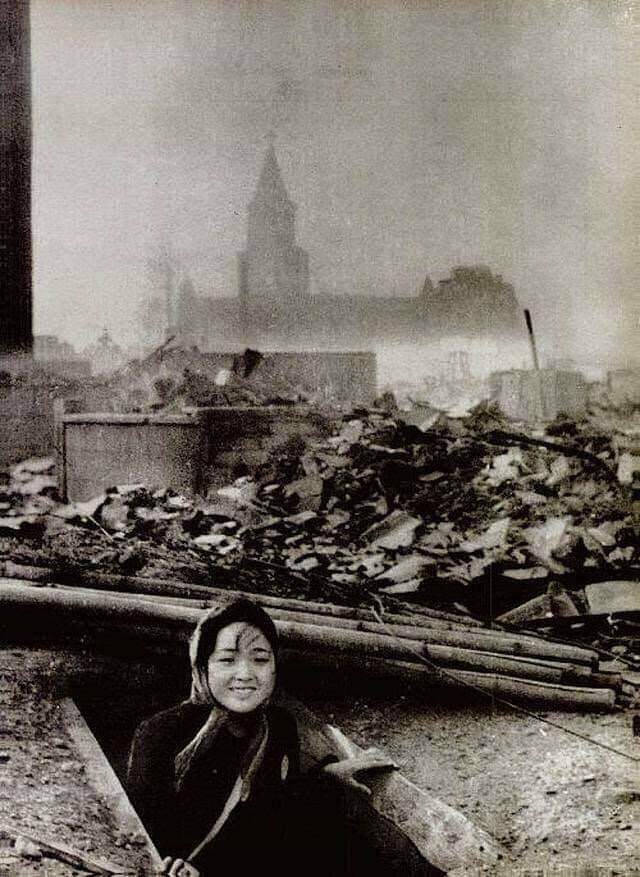 Женщина, которая пережила бомбардировку Нагасаки в августе 1945 года