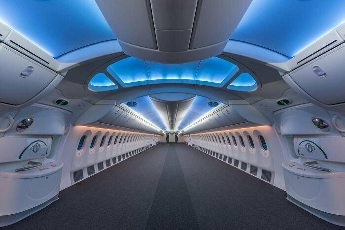 """Так выглядит пустой """"Боинг-787"""""""