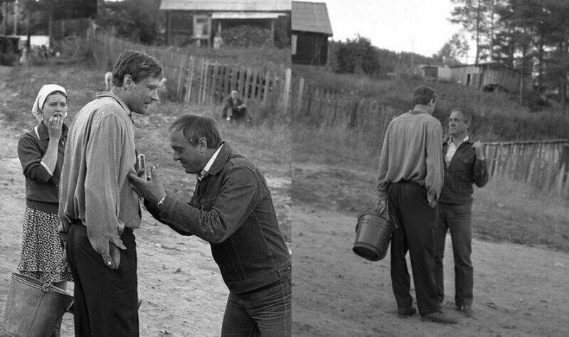 Владимир Меньшов, кстати, как и Гайдай, всегда больше показывал актёрам роль. нежели рассказывал