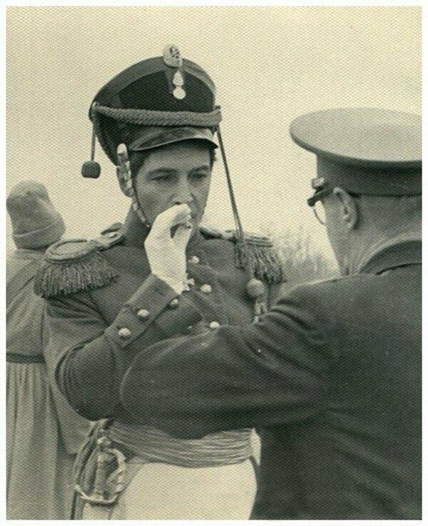 Андрей Болконский на перекуре