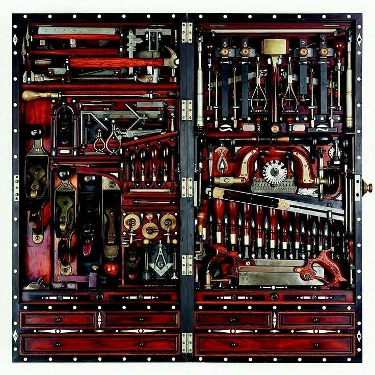 Удивительный набор инструментов мастера по ремонту фортепиано Генри О. Стадли (1838-1925)