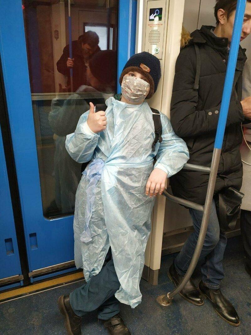 Мода против коронавируса