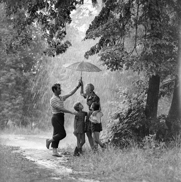«Летний дождичек» 1980-е. Александр Стешанов