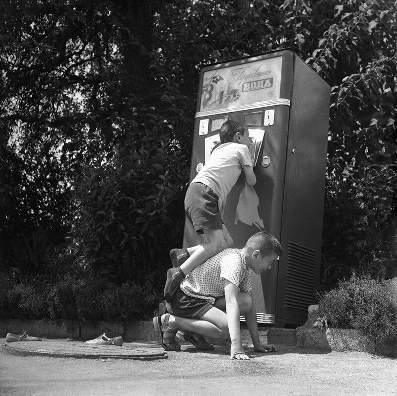 Стакан воды, 1970 год. Борис Косарев