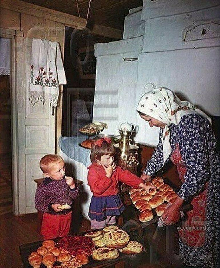 У бабули. СССР, 1950-е