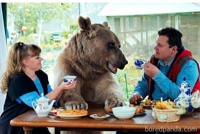 Служители  зоопарка