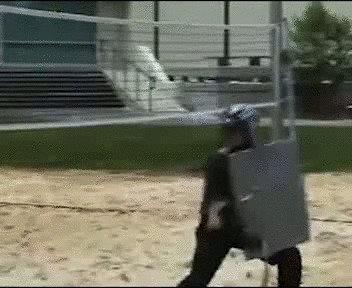 Ну прям рыцарский поединок