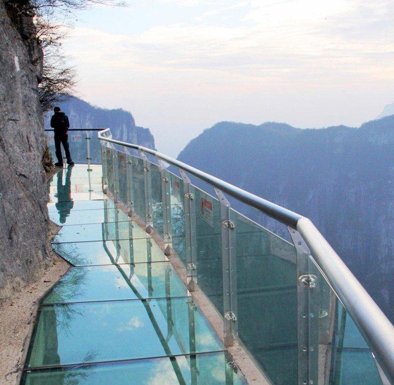 14. Прозрачная лестница и снова в Китае
