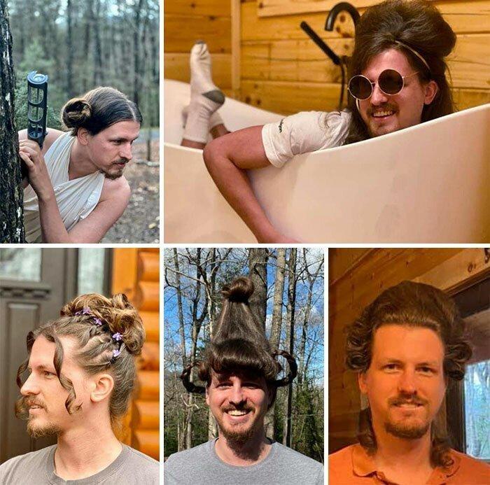 Если вы парикмахер, можно каждый день тренироваться на ближних
