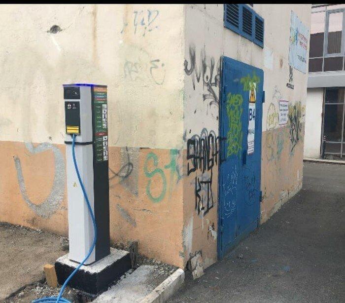 Зарядка электромобилей
