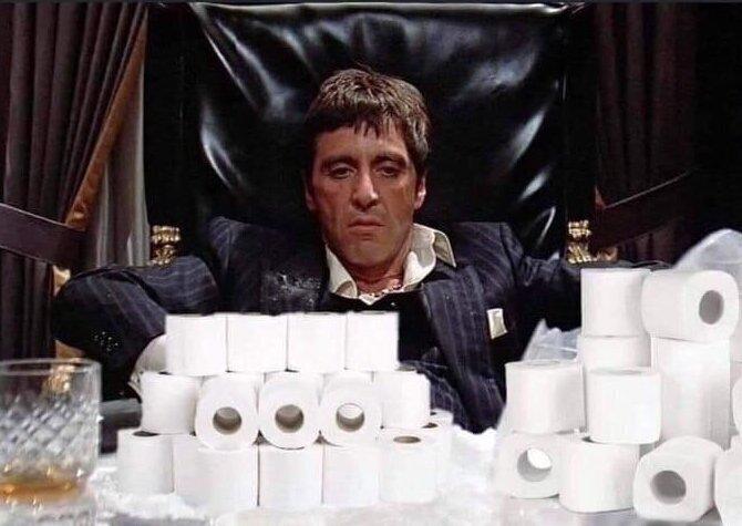 Вершины туалетно-бумажного юмора