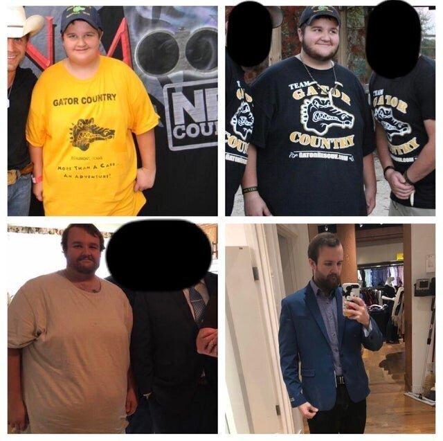 10. Превращение на фото в 13 лет, 15 и 23: сбросил вес, стал заниматься, научился покупать нормальную одежду