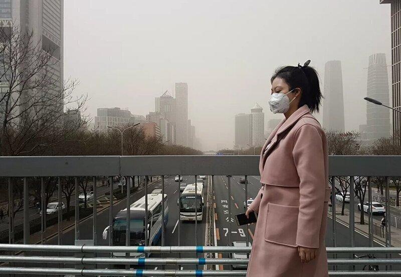 Для защиты от загрязнённого воздуха
