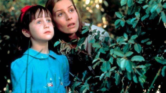 """8-летняя Мара Уилсон в """"Матильде"""" 1996 года"""