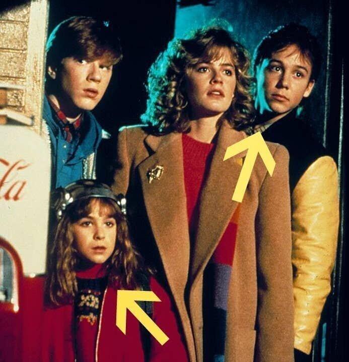 "9-летняя Майа Брутон (Сара) и 17-летний Кит Куган (Брэд Андерсон) в ""Приключениях няни"", 1987"