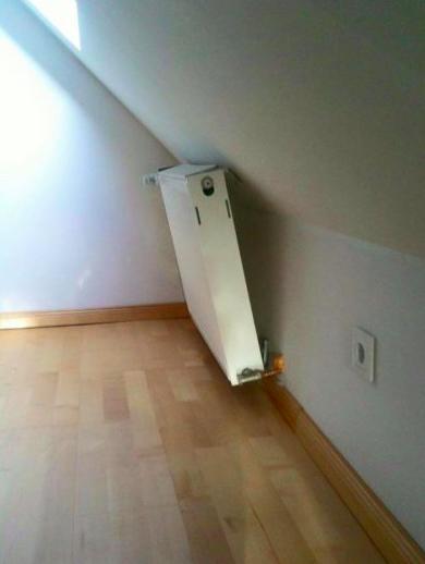 Радиатор установили - зачёт!