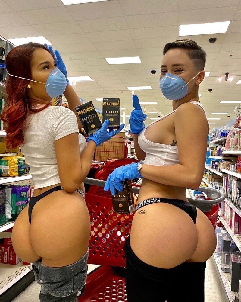 Надевайте маски и перчатки!