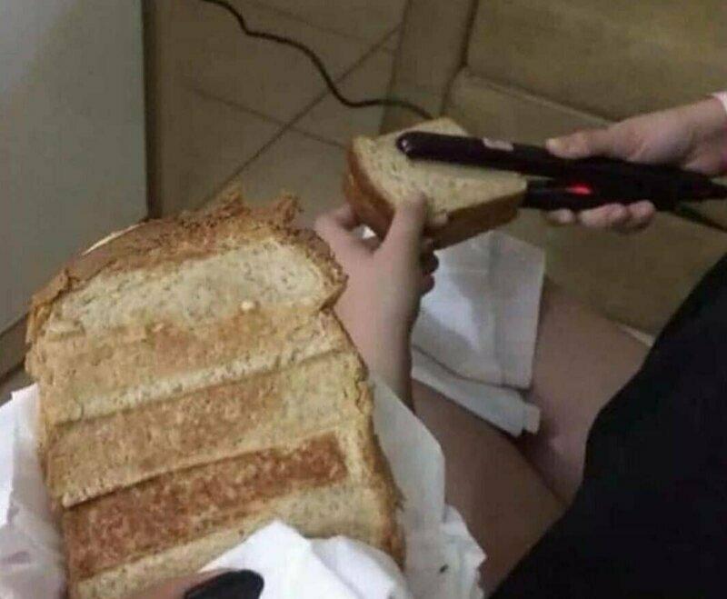 Новая модель тостера