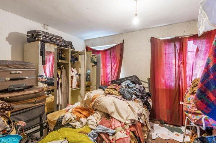 Спальня или склад?