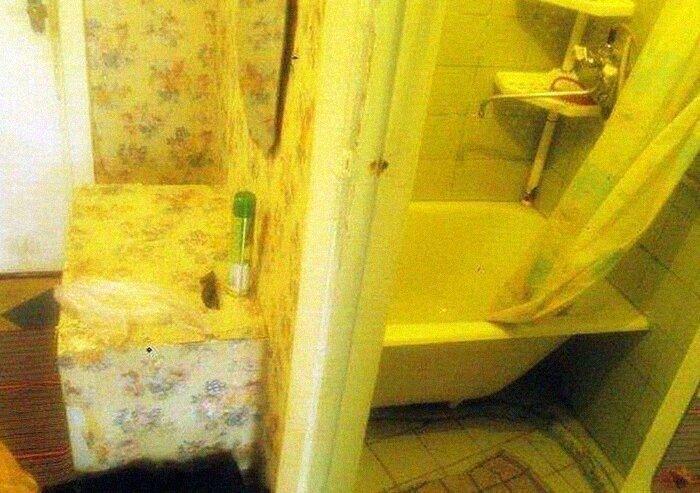 Совместить ванную с прихожей - остроумное решение