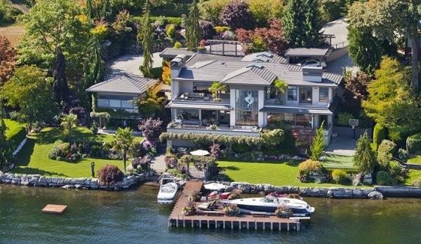 Гейтс назвал свой дом в честь дома вымышленного персонажа