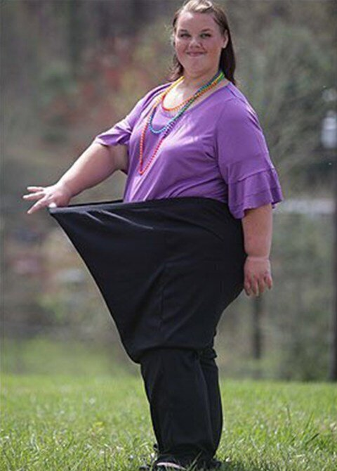 Это ее самый малый вес. Фото 10-тлетней давности. Сегодня о ее жизни ничего не известно