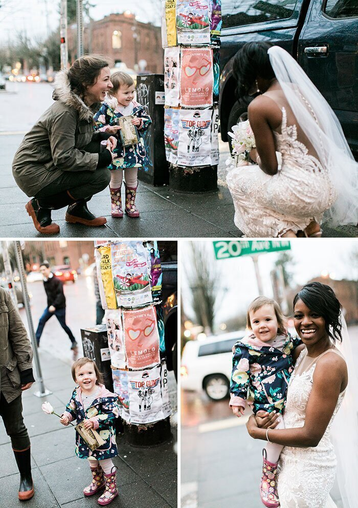 """""""Маленькая девочка на улице подумала, что моя жена - принцесса из ее любимой сказки"""""""