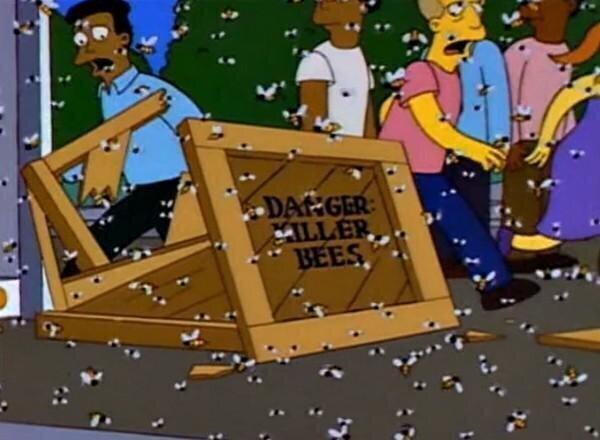 """А """"Симпсоны"""" предупреждали: карантин, протесты и шершни-гиганты"""