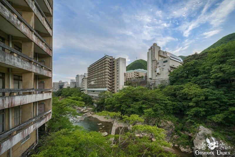 Отчего был заброшен роскошный SPA-комплекс в Японии