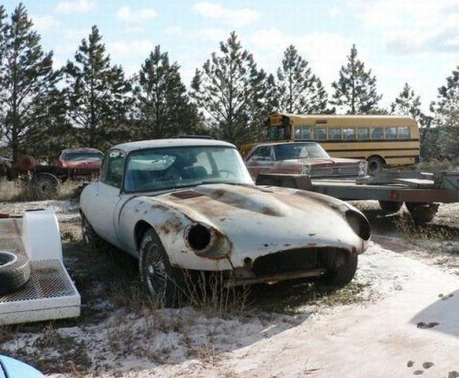 Jaguar e type 1960 года