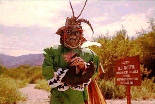 Человек-краб с Марса, 1989 год