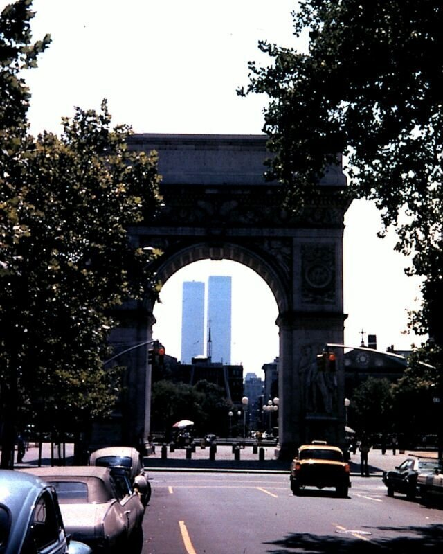 Как и когда на Манхэттене строились печально знаменитые башни-близнецы