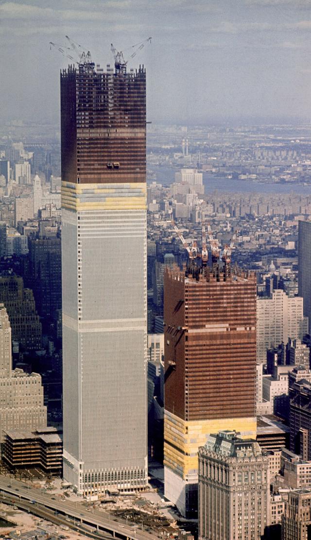 Строительство ВТЦ, 1970