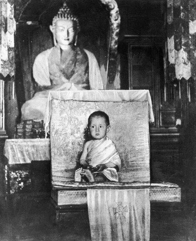 Далай-лама XIV, 1937 год