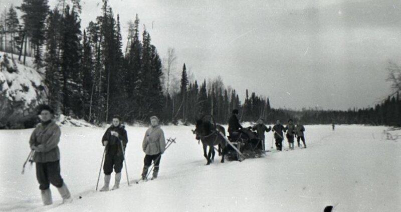 Последние фото участников группы Дятлова, 1959 год