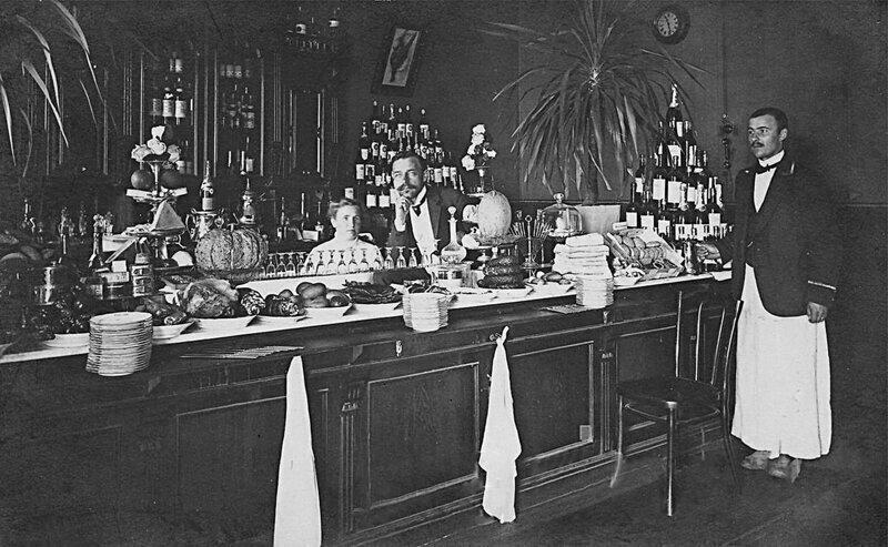 Так выглядел буфет на вокзале в Костроме в 1890 году