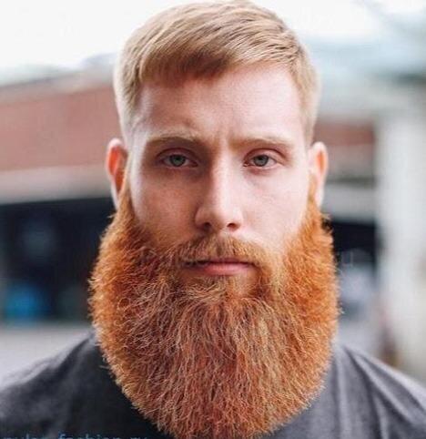 Бывает густая борода, но смотрится она как отдельная часть тела