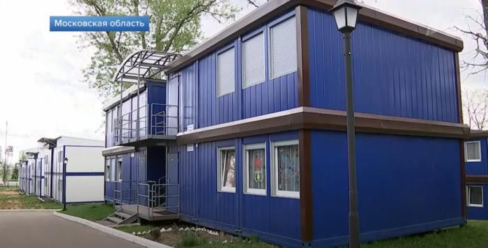 Новый поселок для военных под Москвой похож на скопление бытовок