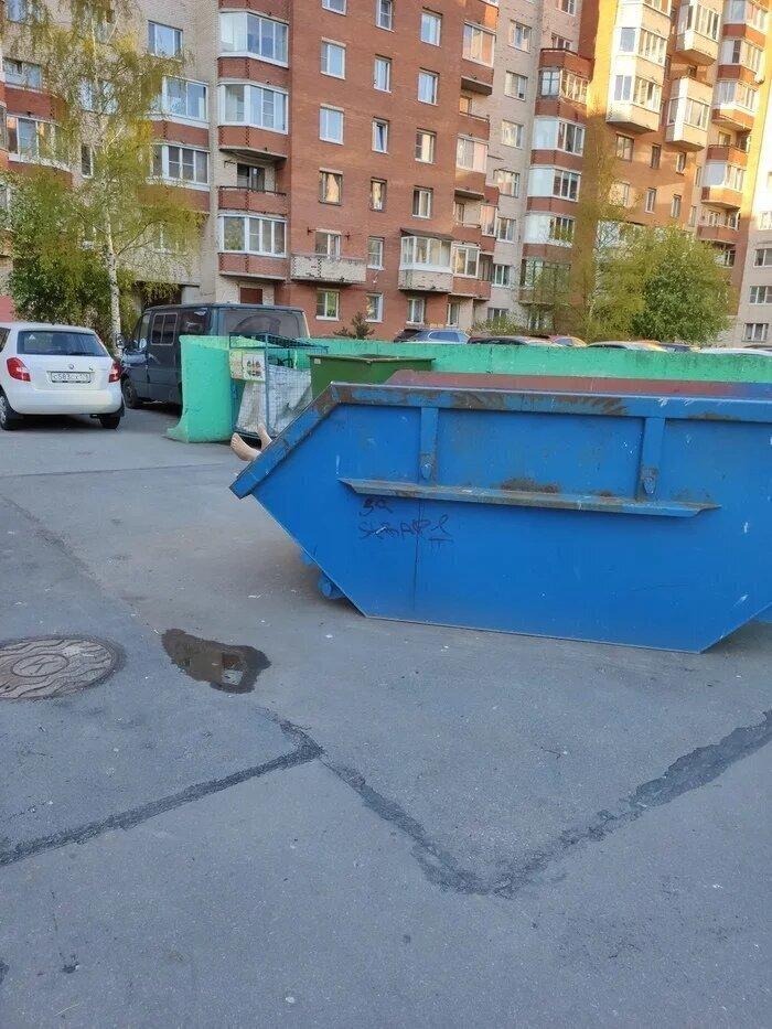 Тот случай, когда лучше прогуляться до соседней мусорной площадки