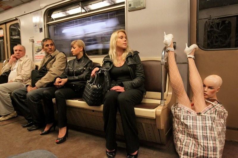 Ничему не удивляйтесь - вы в метро