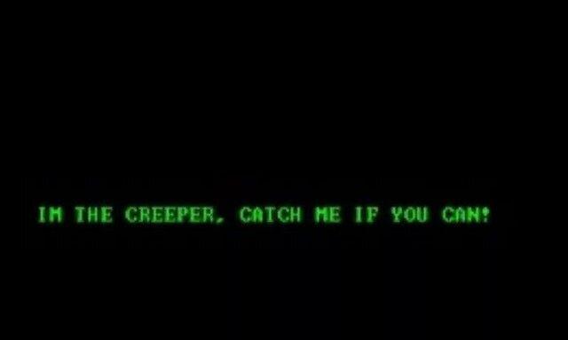 Первый сетевой вирус Creeper