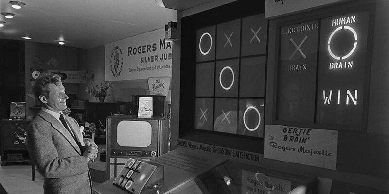 Первая в мире видеоигра - Bertie the Brain - 1950 г