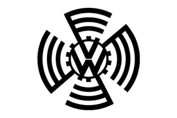 Первый логотип Volkswagen