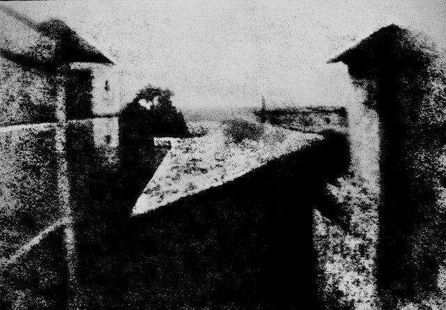 Одна из самых ранних сохранившихся фотографий, 1826 год