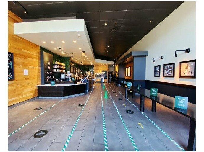 Открывшийся в Сан-Франциско Starbucks закрыл сидячие места - теперь кофе можно пить стоя или брать навынос