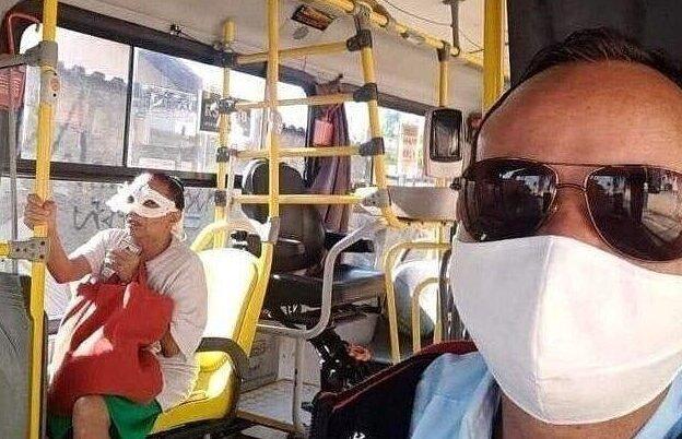 Когда сказали, что надо быть в маске