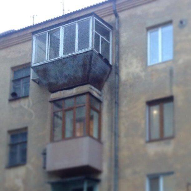Хорошего балкона всегда мало