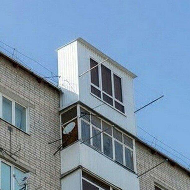 С выходом на крышу