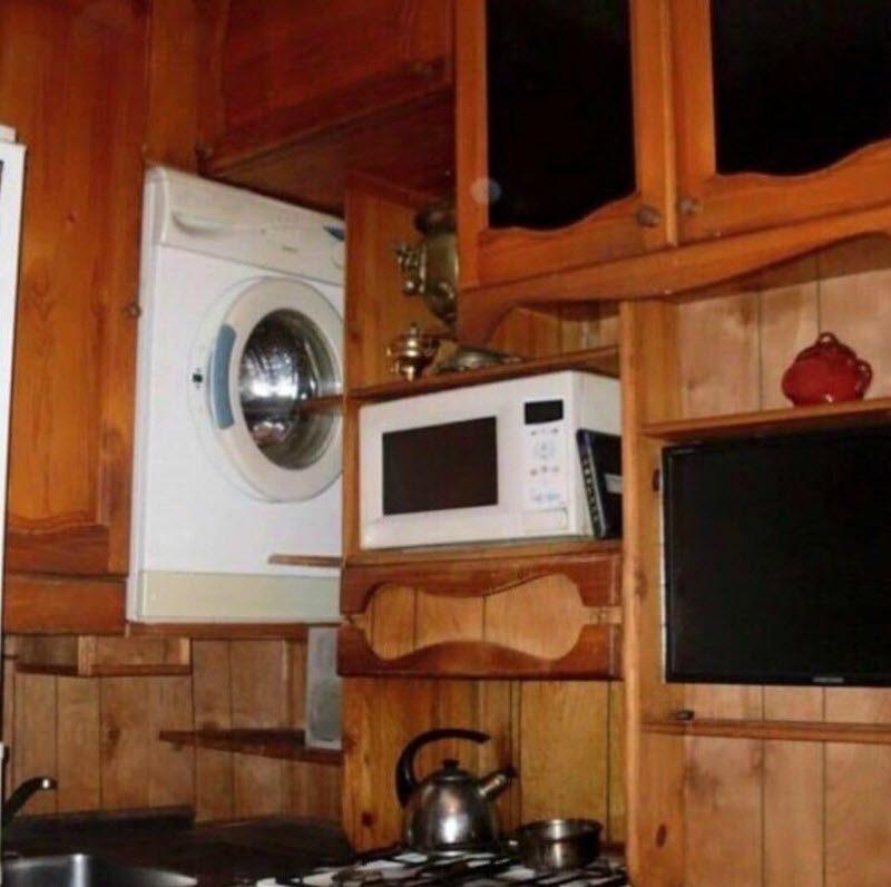 Не знаете, куда пристроить стиральную машинку?